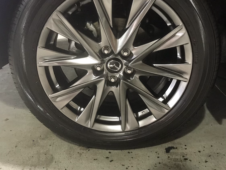 The Truth Is Our Tire Coating at Body Brilliant is Semi-Permanent!
