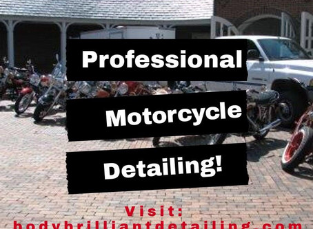 Professional Motorcycle Detailing!