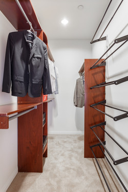 Walk-In Closet | Master suite