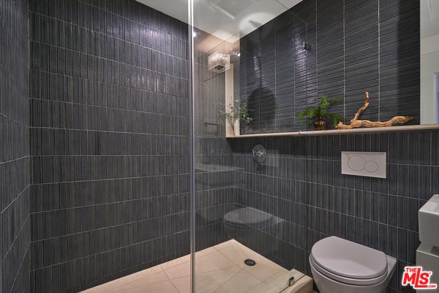 Beautiful custom shower space
