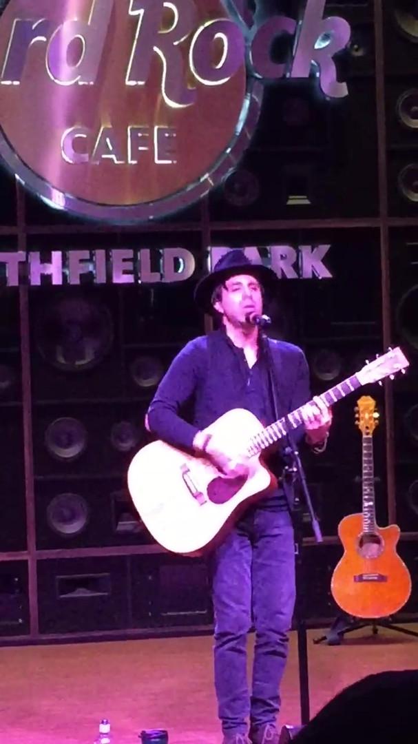 Evan Live at the Hard Rock