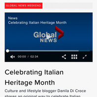 Dolce Vita Mercato on Global News