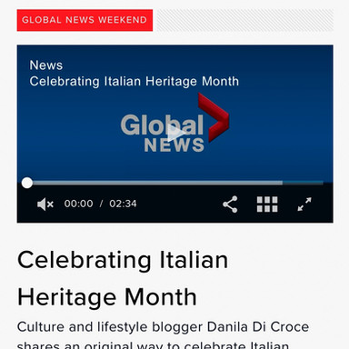 Dolce Vita Mercato on Global News