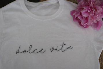 Dolce Vita T-shirt - Erika Caruana_edite