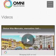 Dolce Vita Mercato on OMNI Television