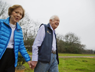 Happy 72nd Anniversary, Jimmy and Rosalynn Carter!