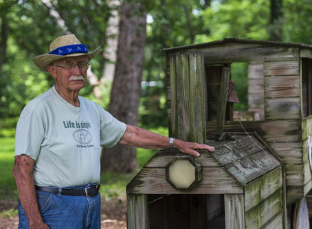 St. George Man Uses Building Skills/Time to Give Back