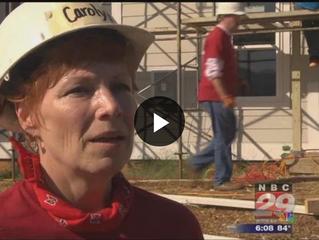 Bank of America Donates, Volunteers Employees to Habitat for Humanity