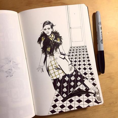 Tiles & fashion