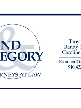 Rand & Gregory Signage