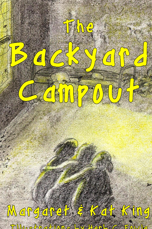 Backyard Campout Paperback with CD