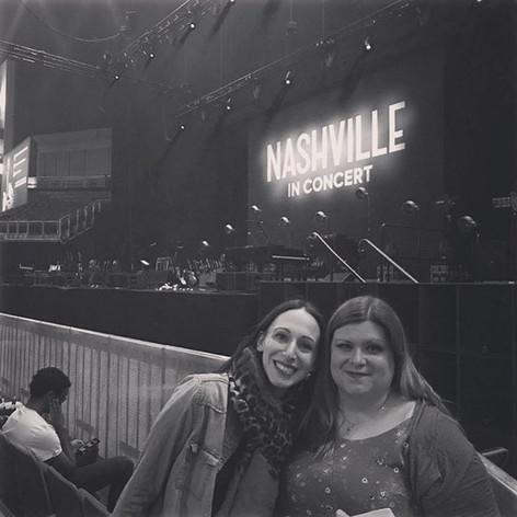Waiting for Nashville to start. So excit