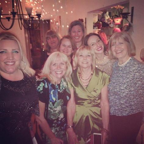 Christmas choir social. Thank you Heidi