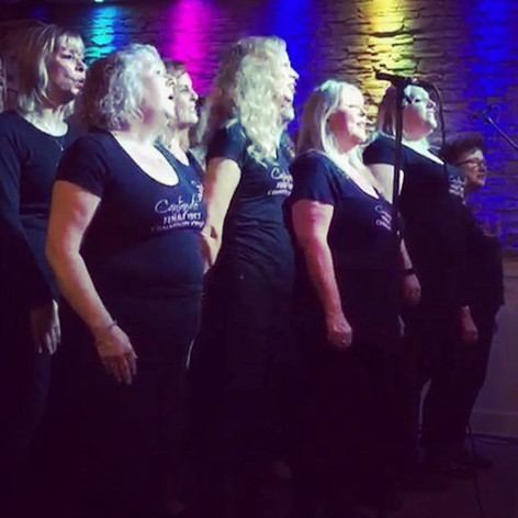 Great gig last week, the first time perf