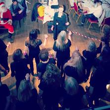 1st Christmas concert of the season. #lo