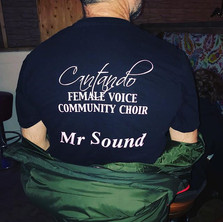 Love it when Mr Sound is at our gig x #s
