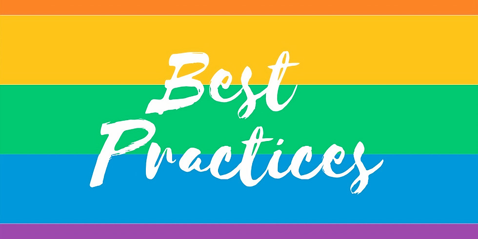 Serve the Rainbow: Best practices for serving the LGBTQ community