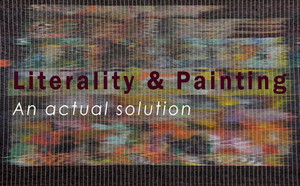 Literality and painting. An actual solution