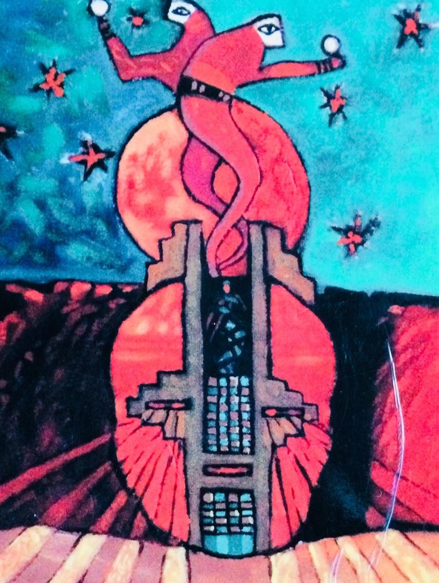 Hopi symbols of the healing dance by Dennis Numkena