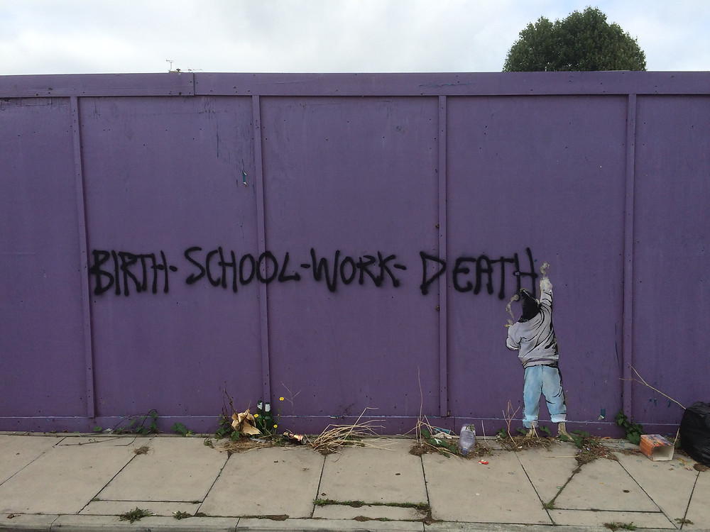 Graffitti in Croydon, South London