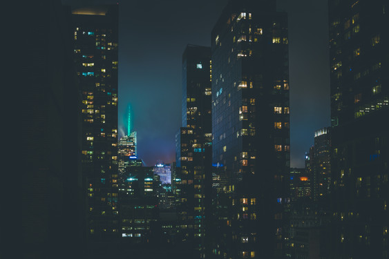 New York At Night - Empire State Building