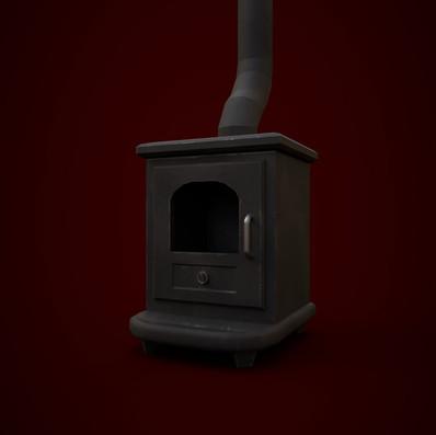 Wood Burning Stove - Render