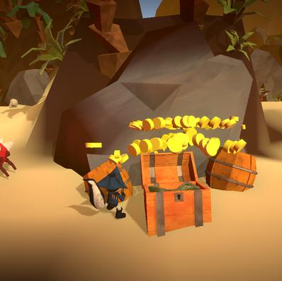 Game Screenshot - Treasure
