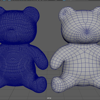 Teddy Bear - Retopology