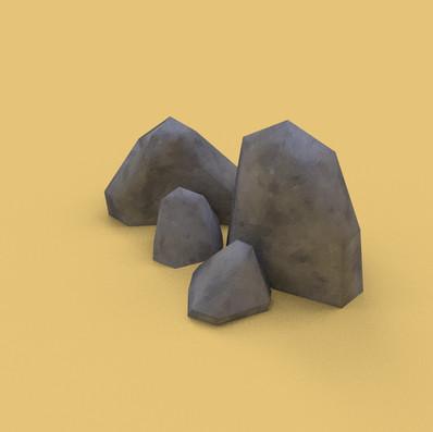 Render - Rock set 1