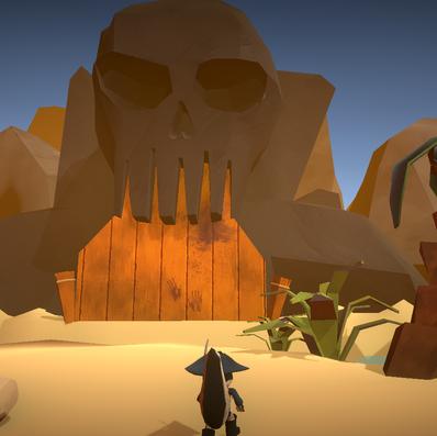 Game Screenshot - Skull Island