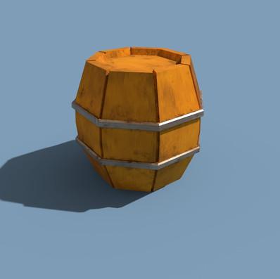 Render - Barrel