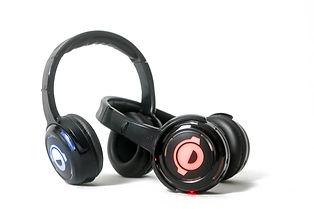 Silent-disco-headphones-lit-white-backgr