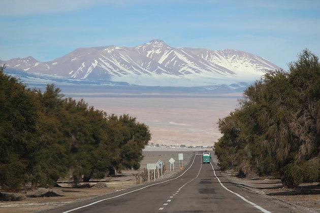 Estrada para Atacama