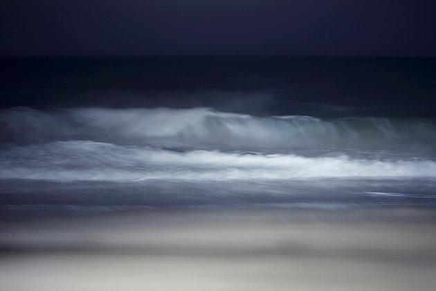 Praia à noite