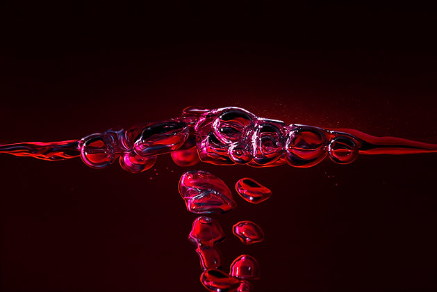 Red bubbles 1