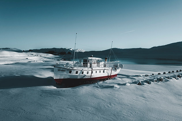 Stranded Vessel