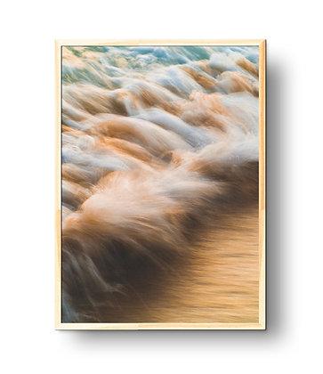 Ondas e névoa - 100x130cm