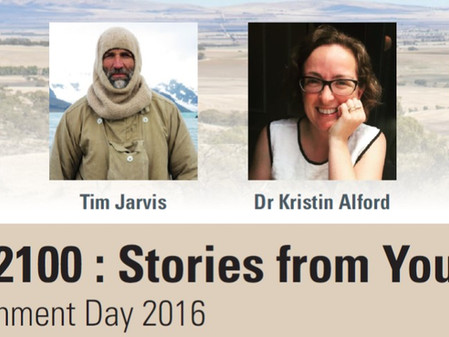Visions 2100 presenting in Adelaide on World Environment Day, 5th June