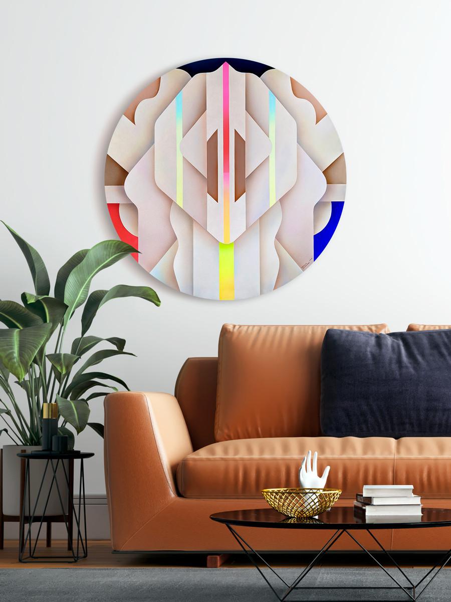 Aura_on-a-wall_acrylic-on-canvas_Natalia