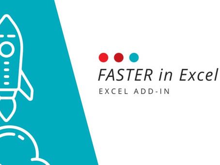 Master your data with FASTER in Excel!