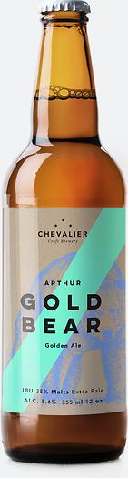 Botteled Gold Bear beer