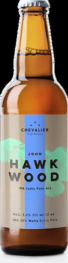 Botteled Hawk Wood beer