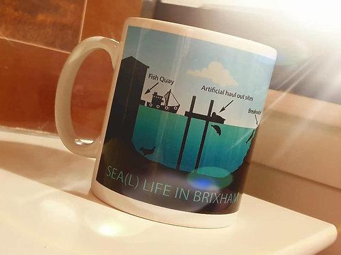 Sea(L) life in Brixham mugs