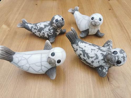 Chloe Harford Ceramic Raku Fired seals