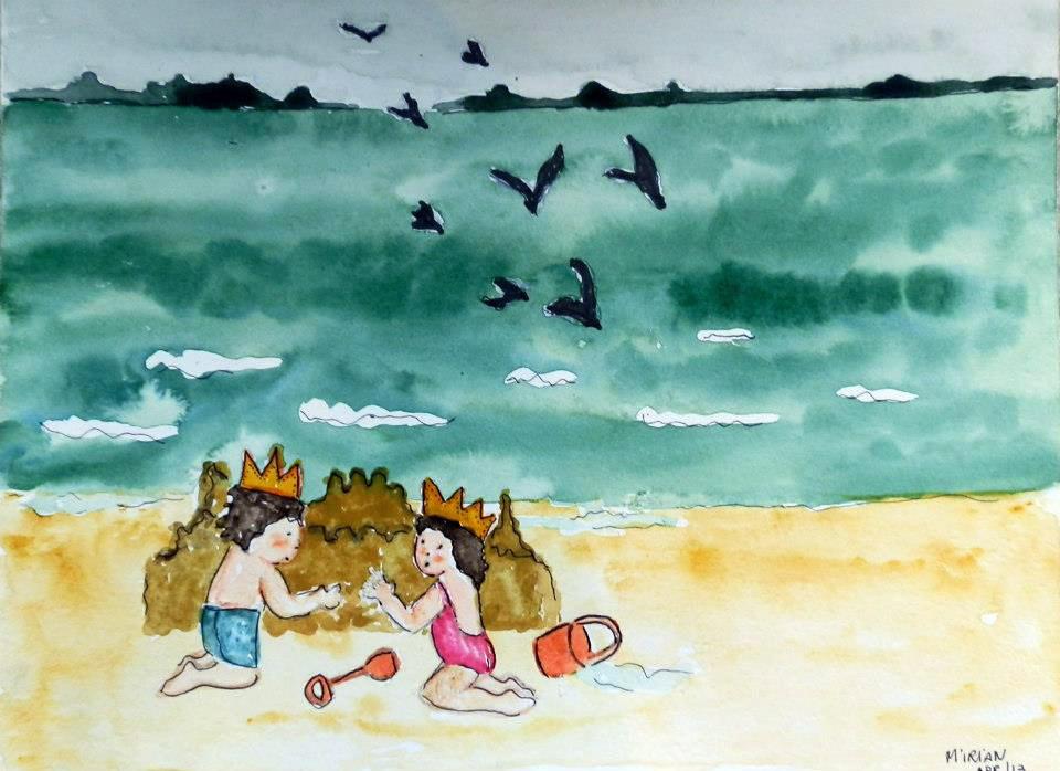 Gente Pequena | Castelos de Areia