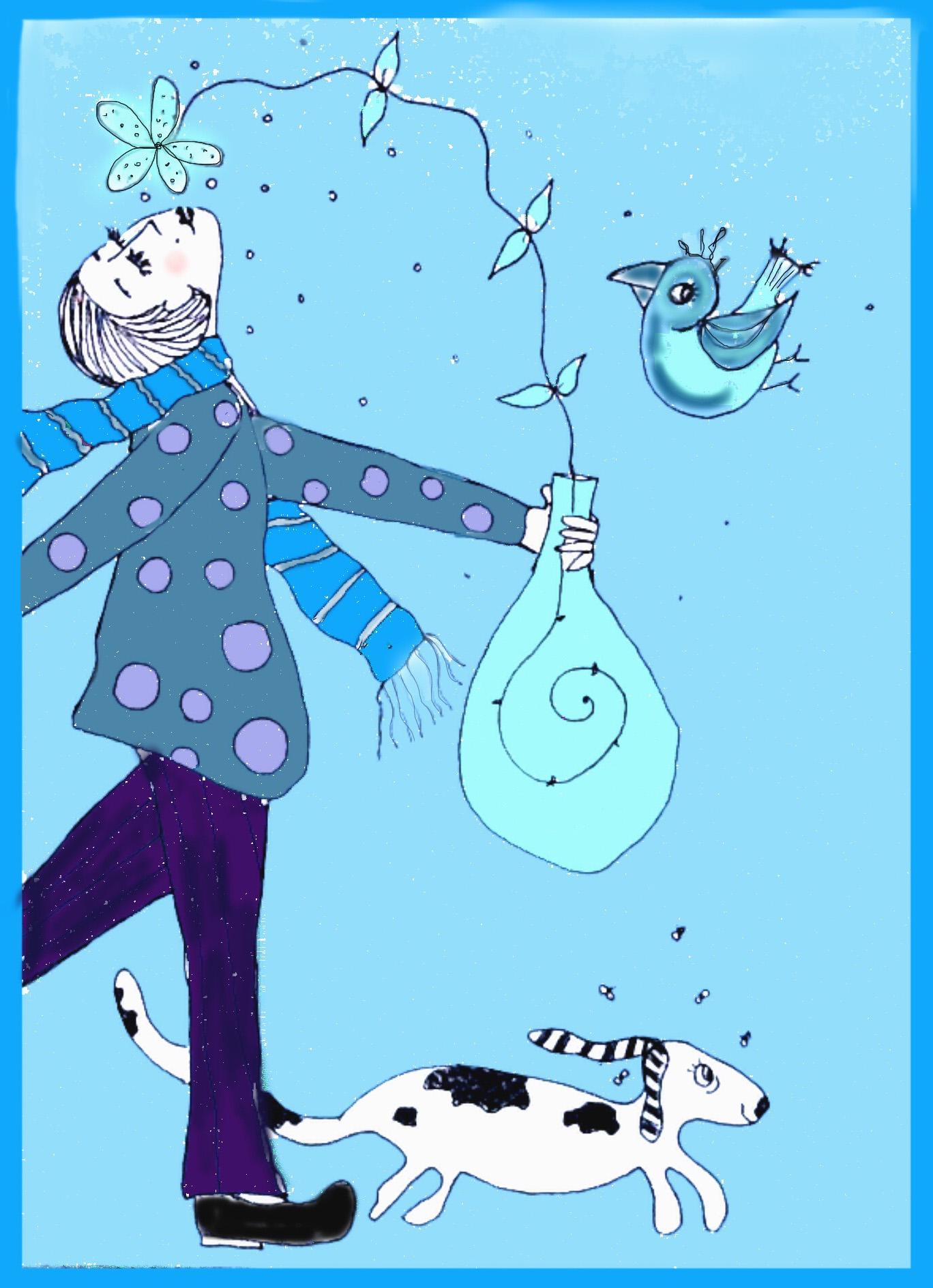 Em Azul