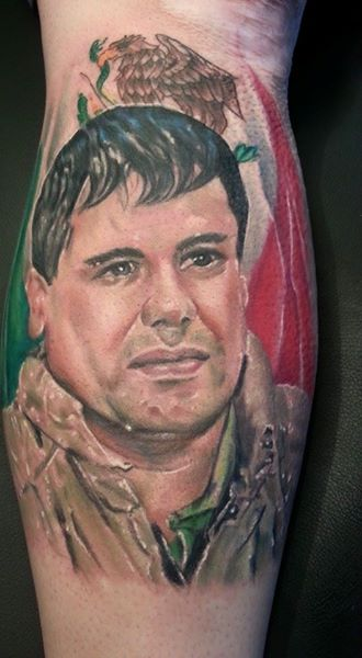 Close Up Joaquín Guzmán aka El Chapo