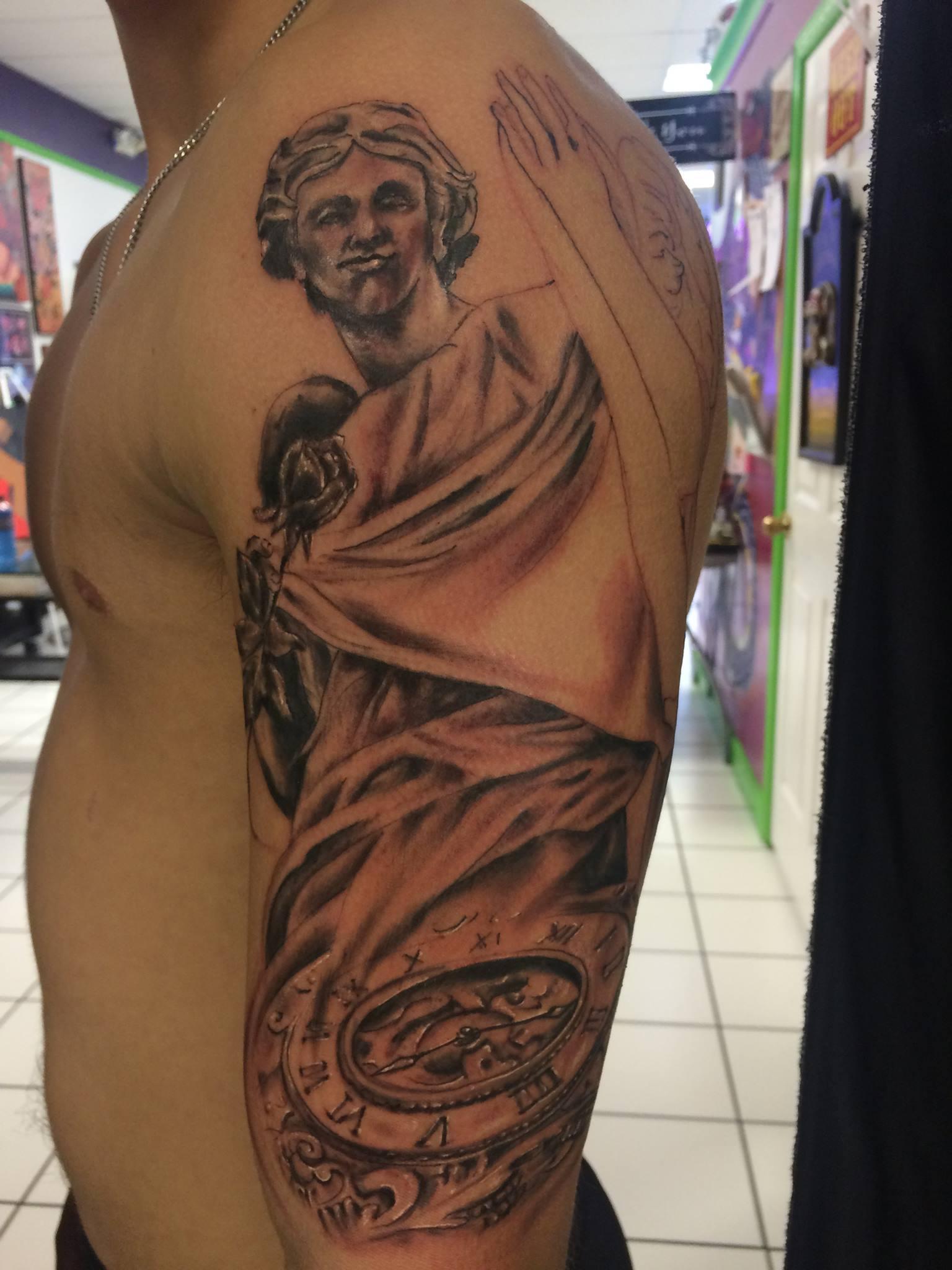 In Progrss: Angel Statue