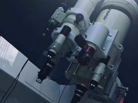 """天体望遠鏡""""出張メンテナンス"""" in 香川県まんのう町"""