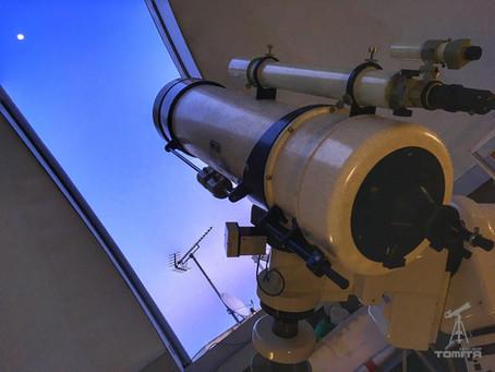 """天体望遠鏡""""出張メンテナンス"""" in 福岡教育大学"""